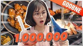 1 triệu MISTHY ăn NGẬP MẶT Ở TIỆM GÀ HÀN QUỐC    WHAT THE FOOD