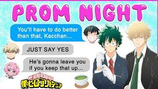 Bakugou HAS TO ASK Deku to PROM! 💌 BNHA Texts - MHA Chat - BakuDeku