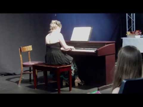Bach: Chromatic Fantasy in d minor - performed by Patti Casella