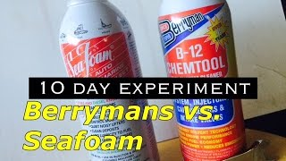 Berrysmans B-12 vs Seafoam - 10 Day Test on Set of Valves - Does Seafoam Actually Work?
