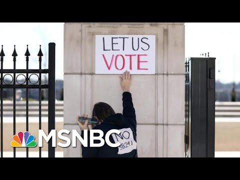 'The Bills Target Everything': GA Republicans Target Voting From Many Angles | Rachel Maddow | MSNBC