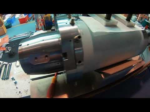 Spindelreparatur einer Kessler DMS 090 Motorspindel