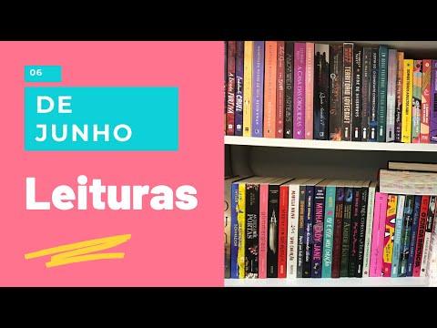 MINHAS LEITURAS DO MÊS DE JUNHO