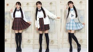 长得不少女也可以穿的jk制服/159小个子御姐脸冬季制服穿搭