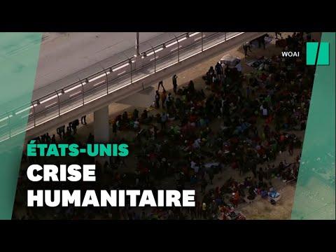 Joe Biden interpellé sur la situation de milliers de migrants sous un pont à la frontière avec le