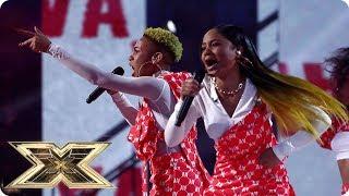 Acacia & Aaliyah sing Survivor | Live Shows Week 4 | The X Factor UK 2018