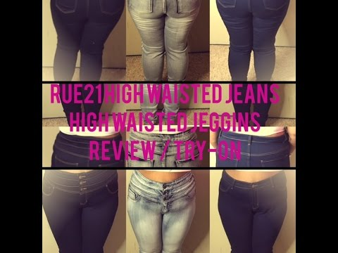 Rue 21 High Waisted Jeans High Waisted Jeggings | Review/ Try-On