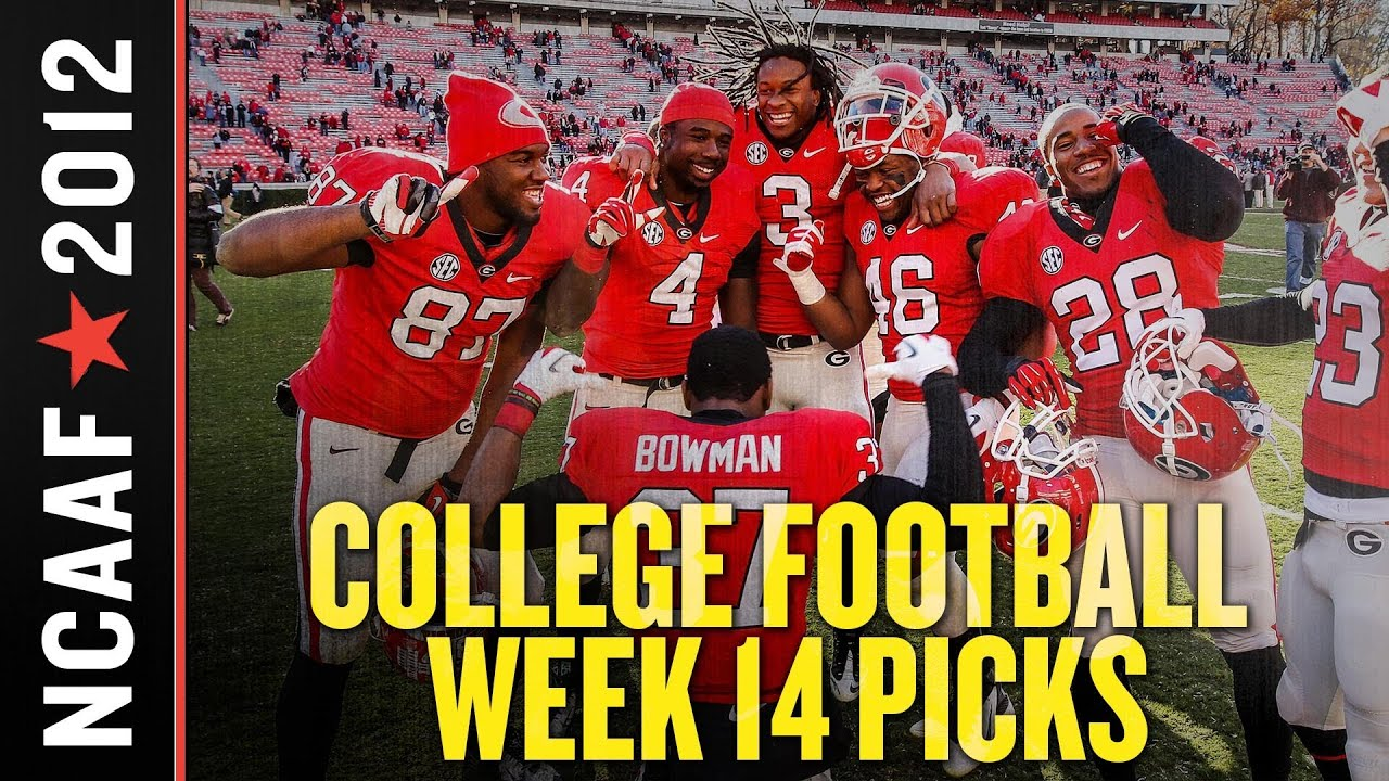 College Football Week 14 Picks Against the Spread: Conference Championship Games Edition thumbnail