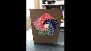 How To: Pentagon Iris Folding Card | Quarantine Crafts