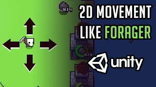 Unity 2D - 8 Direction Player movement using Physics - Самые