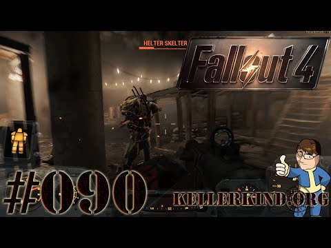 Fallout 4 #090 - Roboter im Untergrund ★ Let's Play Fallout 4 [HD|60FPS]