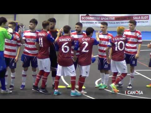 Preview video Apulia Food Canosa Vs Futsal Barletta (6-1)