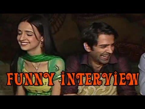 Arnav, Khushi & NK's FUNNY INTERVIEW of Iss Pyaar Ko Kya Naam Doon 19th July 2012