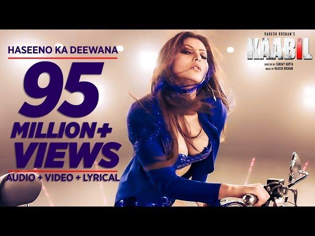 Haseeno Ka Deewana Video Song | Kaabil Movie Songs | Hrithik Roshan