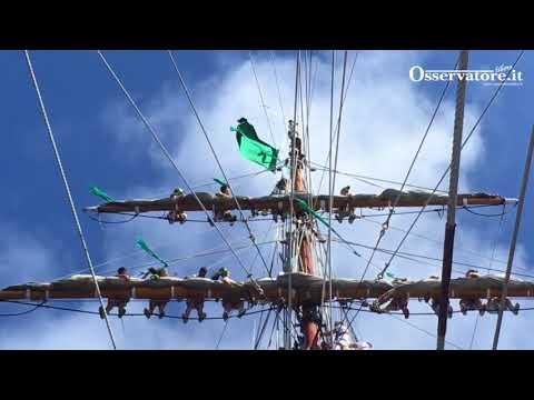 in atlantico su nave vespucci 2017