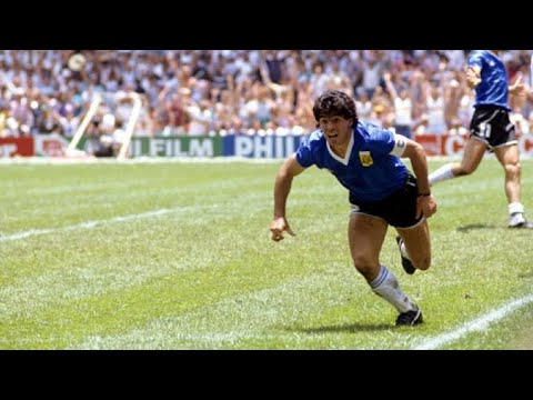 Diego Maradona Historical Performance vs England ● World Cup 1986