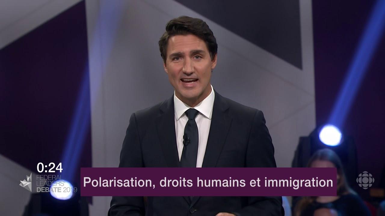 Justin Trudeau répond à la question d'un citoyen sur les divisions au Canada