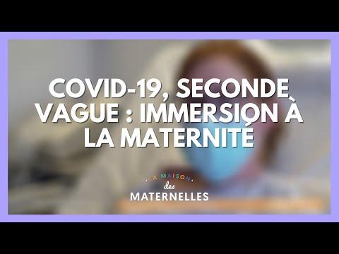 Covid-19, seconde vague : immersion à la maternité - La Maison des maternelles #LMDM