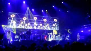 Day of the Sunflowers (We March On) - Basement Jaxx, Live @ o2 Arena, London (17/12/09)