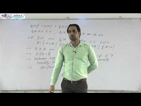 Analysis of Solutions of Linear Differential Equation