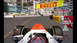 F1 2013 f1-racing forum.com 100% Monaco ( R.I.P. my Logitech MOMO )