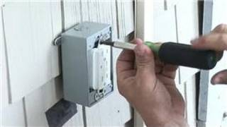 Install Power Receptacle Outside