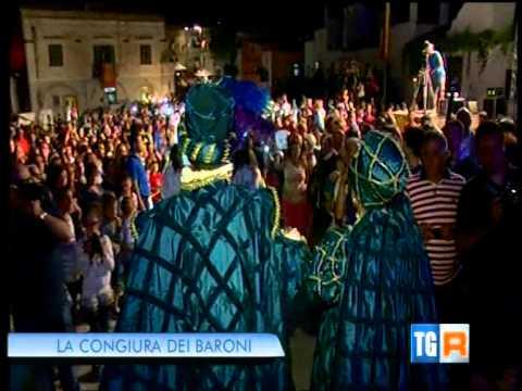 Congiura dei Baroni 2014 - il servizio del TG3 Basilicata