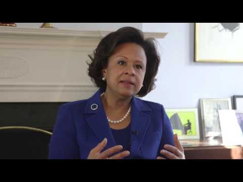 Students Interview Wellesley's New President Dr. Paula Johnson