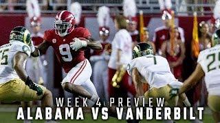 How Alabama is preparing for conference opener against Vanderbilt