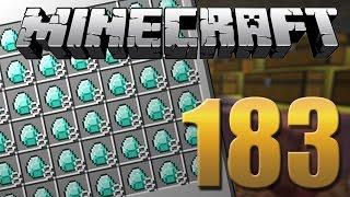 A verdadeira Farm de Diamantes - Minecraft Em busca da casa automática #183.