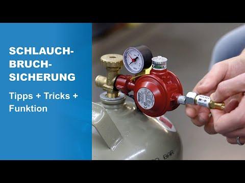 Schlauchbruchsicherung für Gasanlagen - Tipps, Tricks und Funktion im GOK-Tutorial