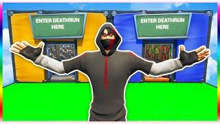 Deathrun... in a deathrun?! (Fortnite Creative Mode)