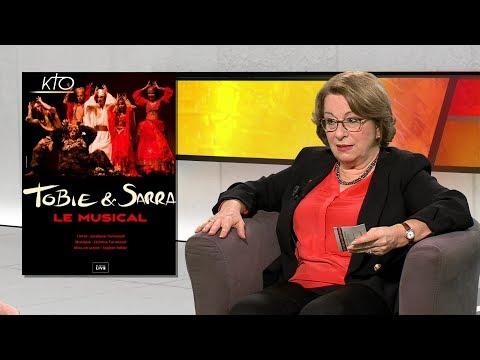 Jocelyne Tarneaud : En mission avec la comédie musicale Tobie et Sarra