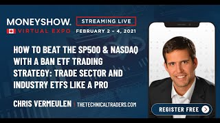 How to Beat the S&P 500 & Nasdaq with a BAN ETF Trading Strategy: Trade Sector and Industry ETFs Like a Pro