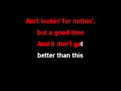 POISON - Nothin But A Good Time (KARAOKE)