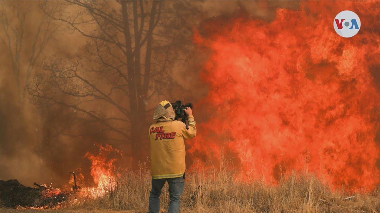 ΗΠΑ:Πυρκαγιές έχουν κατακάψει πάνω από δύο εκατομμύρια στρέμματα στην Καλιφόρνια, ρεκόρ από το 1987