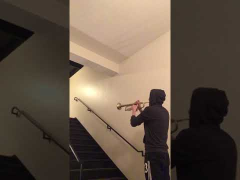 """""""The Force Theme"""" - Star Wars - stairwell with awesome reverb"""