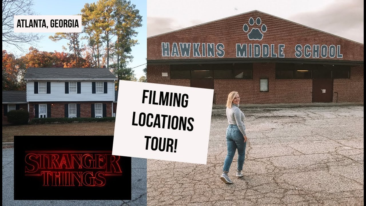 Go on a Stranger Things Filming Tour