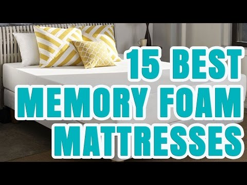 Best Memory Foam Mattress 2016/2017 – TOP 15 Memory Foam Mattresses