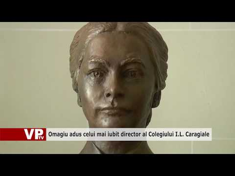Omagiu adus celui mai iubit director al Colegiului I.L. Caragiale
