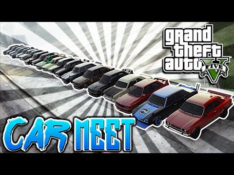 GTA 5 CAR MEETS - FANTASTIC 4  - CoreGamingPs4
