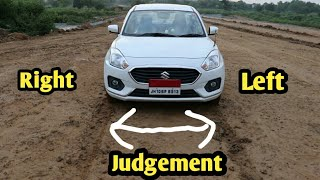 Car Judgement Front Right & Left side explanation in Hindi