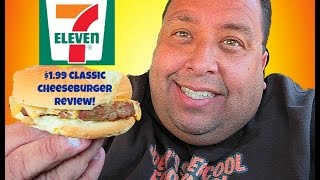 7-Eleven® $1.99 Classic Cheeseburger REVIEW!