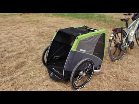 Croozer Dog XL Fahrradanhänger für Hunde