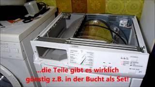 Bosch siemens wärmepumpentrockner wärmetauscher reinigen dryer