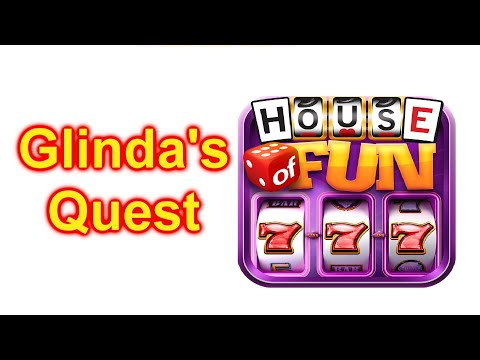 "HOUSE OF FUN Casino Slots Game How To Play ""Glindas Quest"" Cell Phone"