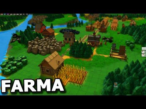 Farmaření a větší město! Tohle je super :D  - Factory Town #2