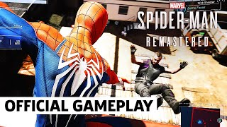 Spider-Man Remastered - Official PS5 Performance Mode Gameplay Reveal (4K)