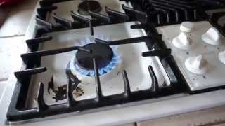 Using the Gas Stove in the Kitchen