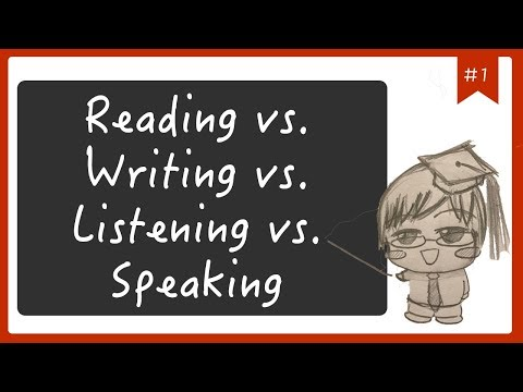 【Language Diary #1】 Reading, Listening, Writing, Speaking - the most important skill is...?